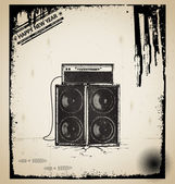 Old music elements vector — Stock Vector