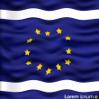 EU flag vector - Stock Vector