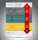 Business infographik elemente vektor — Stockvektor