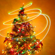 Christmas Tree Light Painting 1 — Stock Photo #17669547