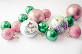 Christmas Baubles 1 — Stock Photo