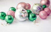 Christmas Baubles 26 — Stock Photo