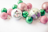 Christmas Baubles 24 — Stock Photo