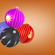 Christmas sphere — Stock Photo #15343341