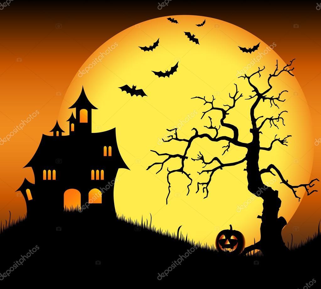Halloween Sp 246 Kslott Med Fladderm 246 Ss Och Tr 228 D Stock