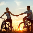 Stock Photo: Bicycles