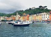 Portofino dorp — Stockfoto