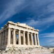 Ancient Parthenon in Acropolis Athens Greece on blue sky backgro — Stock Photo #15341265