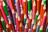 Decorated pencils close-up — Stock Photo
