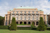 Building Karolinum education complex Charles university Prague C — Stock Photo