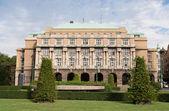 Gebäude karolinum bildung komplexer charles universität prag c — Stockfoto