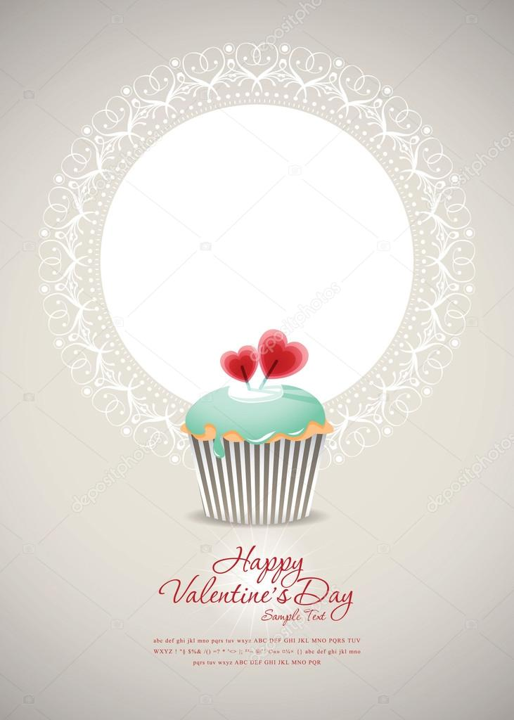Vintage cupcake background 01  Stock Vector #15866925