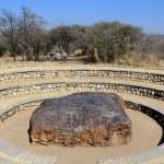 Hoba meteorite - the largest meteorite ever found — Stock Photo #15353129