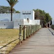 Namutoni Fort, entrance to Etosha National Park - 