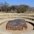Royalty-Free Stock Photo: Hoba meteorite - the largest meteorite ever found