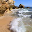 Western Algarve beach scenario, Portugal — Stock Photo