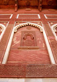 Outside Architecture of the Red Fort — Stock Photo