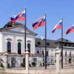 Grassalkovich Palace (Grasalkovicov Palac), Bratislava. — Stock Photo #15414123