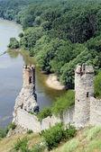 Devin castle near Bratislava (at the border with Austria) — Stock Photo