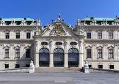 Belvedere sarayı cephe — Stok fotoğraf