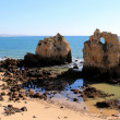 Stock Photo: Western Algarve beach scenario, Portugal