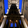 Santa Justa Lift (Elevador de Santa Justa) also knowned as Carmo — Stock Photo