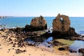 Western Algarve beach scenario, Portugal — Stock Photo