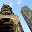 Ruins of Kaiser Wilhelm Memorial Church in Berlin — Stock Photo #15473613