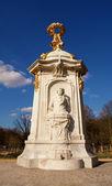 Beethoven statue in Tiergarten center city park — Stock Photo