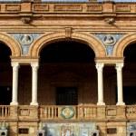 Famous Plaza de Espana — Stock Photo
