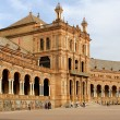 Famous Plaza de Espana — Stock Photo