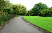 St Stephen Green park — Stock Photo