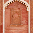 Outside Architecture detail of the Red Fort — Foto de Stock