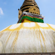 Swayambhunath stupa temple on the outskirts of Kathmandu — Stock Photo