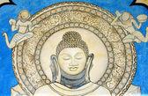 佛教寺庙野道德 — 图库照片