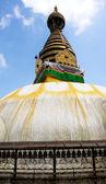 Temple de stupa de swayambhunath à la périphérie de katmandou — Photo