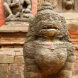 Durbar Square building - Hindu temples in the ancient city, vall — Stock Photo