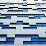 Modern building wall pattern — Stock Photo #16210229