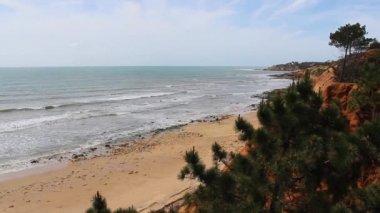 Praia de Santa Eulalia - Albufeira — Stockvideo