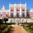 Stock Photo: Palace of Estoi, work of Romantic architecture unique in