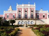 Palace of Estoi, a work of Romantic architecture unique in — Stock Photo