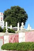 Palace of Estoi garden, a work of Romantic architecture un — Stock Photo