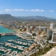 Stock Photo: Panoramic view over Calp (Spain)