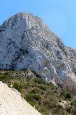 Parque Natural de penon de ifach situado em calp, Espanha. — Fotografia Stock