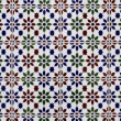 """Azulejo"" Portuguese traditional painted art tile texture — Stock Photo #28962297"