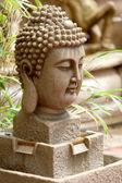Zahradní socha zen — Stock fotografie