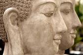 Estatua del jardín zen — Foto de Stock