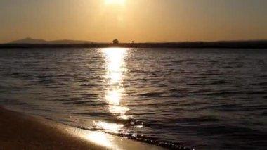 Ria formosa zones humides paysage, algarve, sud du portugal. — Vidéo