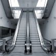 Modern metro station architecture perspective detail — Stock Photo