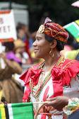 Desfile americano antillana & carnaval. día del trabajo, septiembre — Foto de Stock